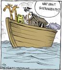 Comic Strip John Deering  Strange Brew 2013-11-23 ecosystem