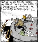Cartoonist John Deering  Strange Brew 2013-12-10 lose