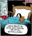 Cartoonist John Deering  Strange Brew 2013-12-12 'twas