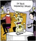 Cartoonist John Deering  Strange Brew 2013-12-13 crash