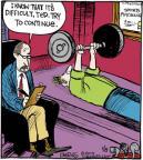 Cartoonist John Deering  Strange Brew 2014-01-08 athlete