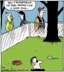 Cartoonist John Deering  Strange Brew 2014-01-29 Lost