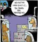 Comic Strip John Deering  Strange Brew 2014-02-10 science