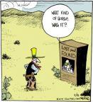 Comic Strip John Deering  Strange Brew 2014-02-15 horse