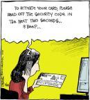 Cartoonist John Deering  Strange Brew 2014-02-28 card