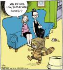 Cartoonist John Deering  Strange Brew 2014-03-10 cat toy