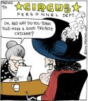 Cartoonist John Deering  Strange Brew 2014-03-21 catch