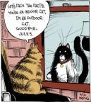 Cartoonist John Deering  Strange Brew 2014-04-16 indoor cat