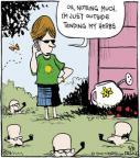 Cartoonist John Deering  Strange Brew 2014-05-08 gardening