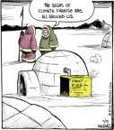 Comic Strip John Deering  Strange Brew 2014-05-19 climate