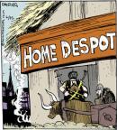 Comic Strip John Deering  Strange Brew 2014-06-25 home maintenance