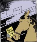Comic Strip John Deering  Strange Brew 2014-07-05 horse