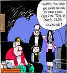 Comic Strip John Deering  Strange Brew 2014-08-14 vacation