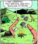 Comic Strip John Deering  Strange Brew 2014-08-21 vacation