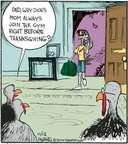 Cartoonist John Deering  Strange Brew 2014-11-12 lose