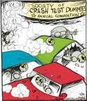 Cartoonist John Deering  Strange Brew 2014-11-20 crash