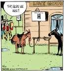 Comic Strip John Deering  Strange Brew 2014-12-10 horse