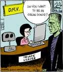 Cartoonist John Deering  Strange Brew 2014-12-30 license