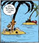 Cartoonist John Deering  Strange Brew 2015-01-12 Lost