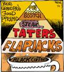 Cartoonist John Deering  Strange Brew 2015-01-13 food pyramid