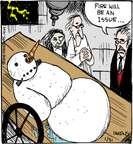 Comic Strip John Deering  Strange Brew 2015-01-31 heat
