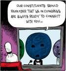 Cartoonist John Deering  Strange Brew 2015-02-06 bowling ball