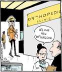 Cartoonist John Deering  Strange Brew 2015-03-16 orthopedics
