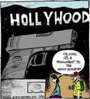 Cartoonist John Deering  Strange Brew 2015-03-26 gun