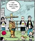 Cartoonist John Deering  Strange Brew 2015-04-06 gun