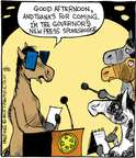 Comic Strip John Deering  Strange Brew 2015-04-08 horse