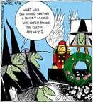 Cartoonist John Deering  Strange Brew 2015-04-29 witch