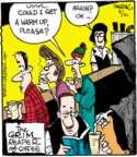 Comic Strip John Deering  Strange Brew 2015-08-10 heat