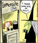 Cartoonist John Deering  Strange Brew 2015-09-19 lemonade