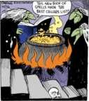 Cartoonist John Deering  Strange Brew 2015-10-26 witch