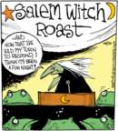 Cartoonist John Deering  Strange Brew 2015-10-30 witch