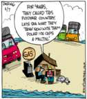Cartoonist John Deering  Strange Brew 2015-11-07 climate