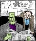 Comic Strip John Deering  Strange Brew 2016-02-10 house