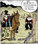 Comic Strip John Deering  Strange Brew 2016-04-27 horse