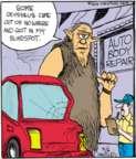 Cartoonist John Deering  Strange Brew 2016-05-06 car accident