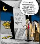 Cartoonist John Deering  Strange Brew 2016-05-09 food supply