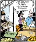 Cartoonist John Deering  Strange Brew 2016-07-11 cat