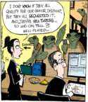 Cartoonist John Deering  Strange Brew 2016-07-14 elderly