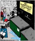 Comic Strip John Deering  Strange Brew 2016-07-16 dive