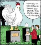 Comic Strip John Deering  Strange Brew 2016-08-04 chicken