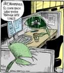 Cartoonist John Deering  Strange Brew 2016-08-29 fly