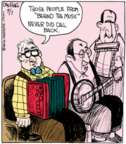Comic Strip John Deering  Strange Brew 2016-09-07 television
