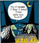 Cartoonist John Deering  Strange Brew 2016-10-10 chef