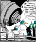 Comic Strip John Deering  Strange Brew 2016-11-09 astronomy