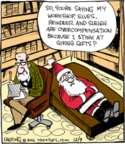 Comic Strip John Deering  Strange Brew 2016-12-09 reindeer