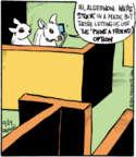 Comic Strip John Deering  Strange Brew 2016-12-23 research